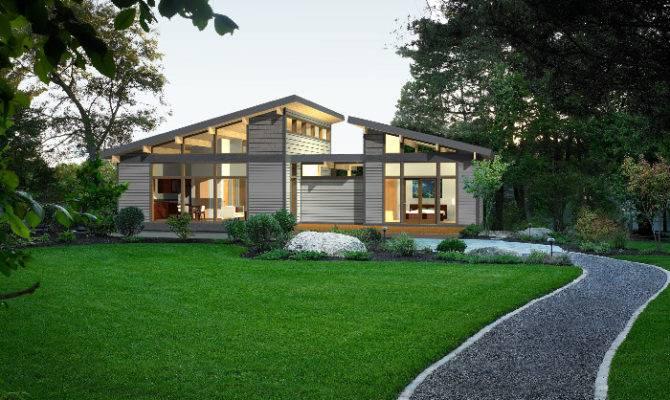 Cedar Homes Modern Frame Lindal Green Building
