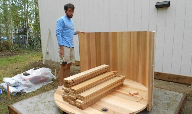 Cedar Hot Tub Kit Furniture Ideas Home Interior