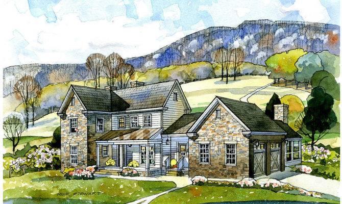 Celebs Pre Designed Cottage Farmhouse Plans New South Classics