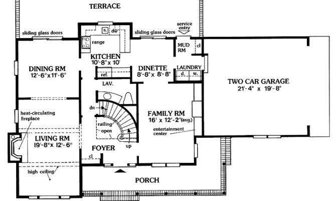 Center Hall Colonial Floor Plans Quotes
