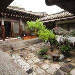 Central Courtyard Sophia Guest House