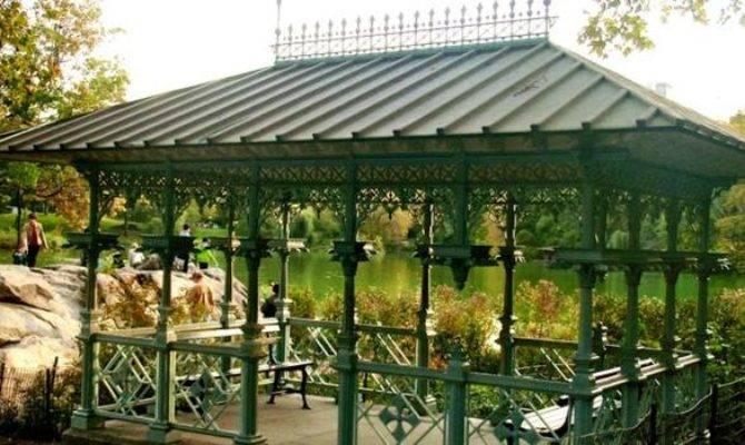 Central Park Ladies Pavilion Wedding Venue Provided