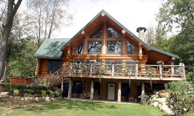 Chalet Log Home Plans Bee Plan Decoration Ideas