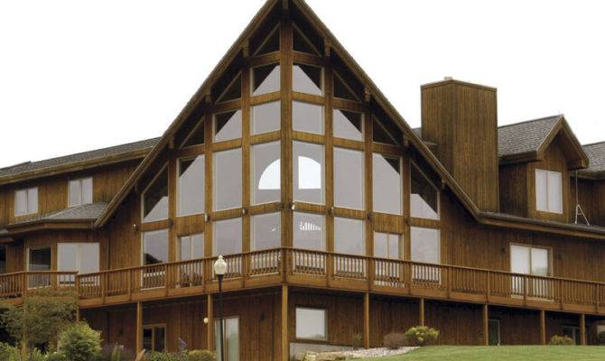 Chalet Style Brio Design Homes Custom Home Builders