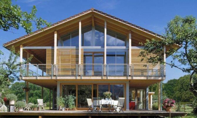Chalet Style Home Schauer Baufritz Homes
