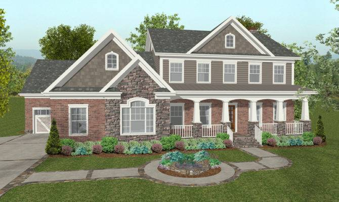 Chancellor Craftsman Home Plan House Plans