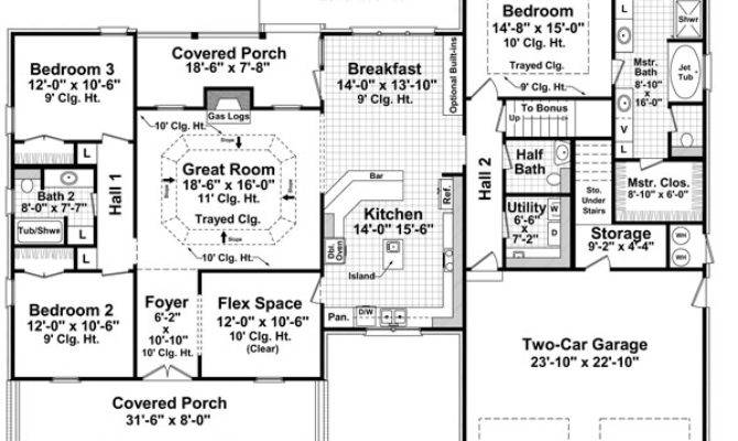 Characteristics Features Bungalow House Plan