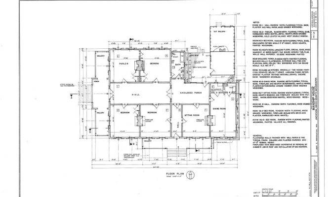 Charles Manship House Jackson Historic Details