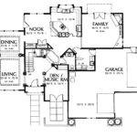 Charmed House Floor Plan Stucco Contemporary