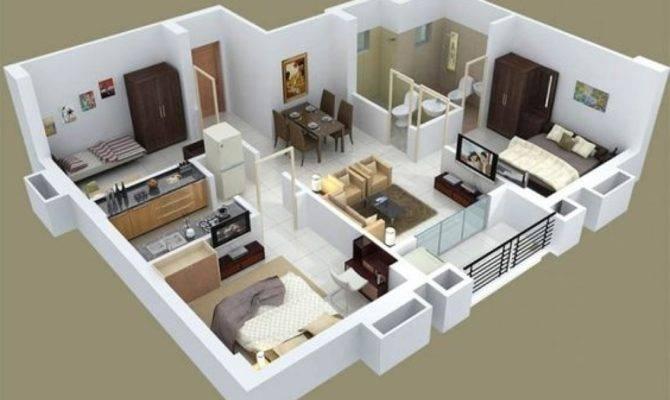 Charming Bedroom House Interior Design Apartment Plans