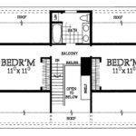 Charming Cape House Plan Floor Master Suite