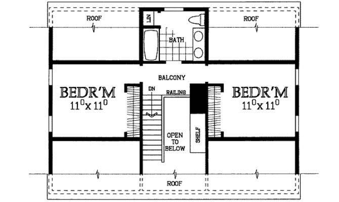 Charming Cape House Plan Floor Master Suite
