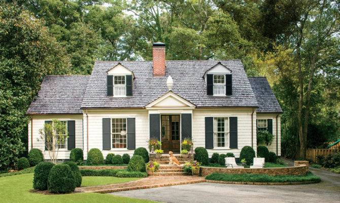 Charming Cottage Curb Appeal Home Exteriors Southern