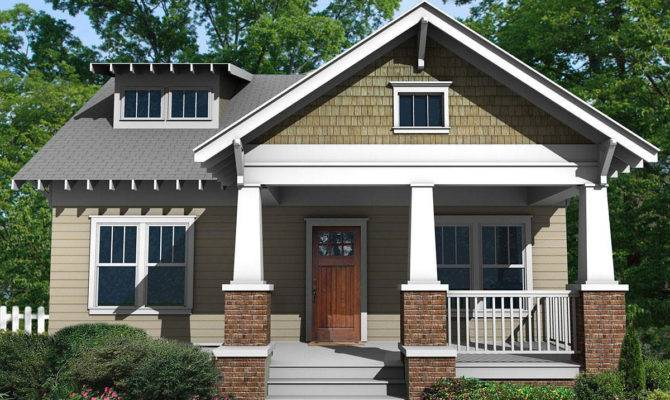 Charming Craftsman Bungalow Deep Front Porch