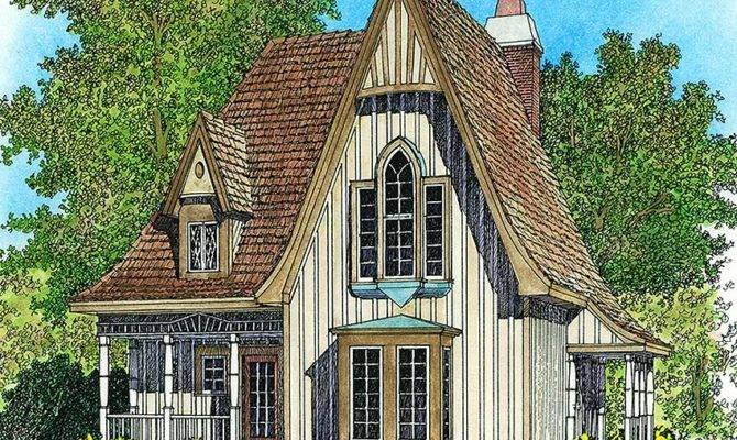 Charming Gothic Revival Cottage Architectural