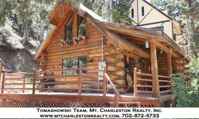 Charming Log Cabin Make Front Porch Memories Old Fashioned