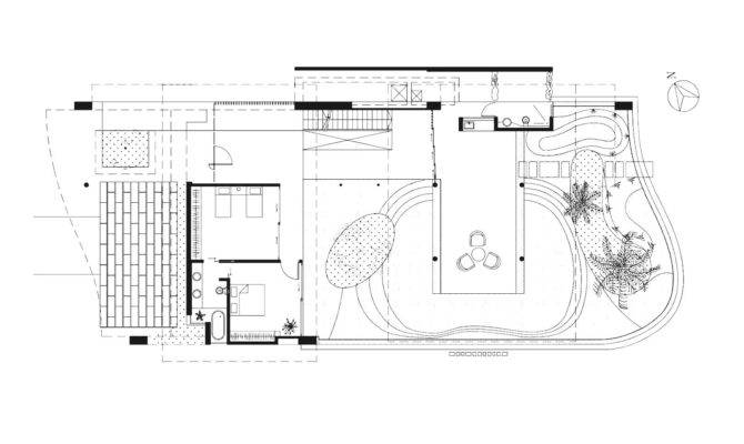 Charming Pool House Floor Plan Ideas Bathroom