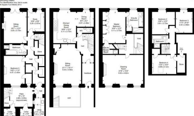 Charming Townhouse Floor Plans House Plan