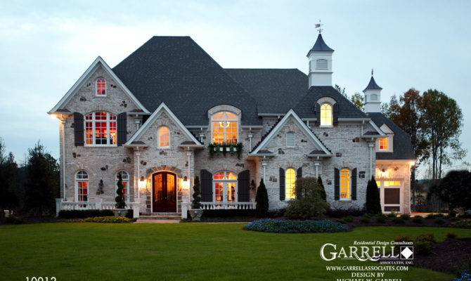 Chateau Mont House Plan Covered Porch Plans