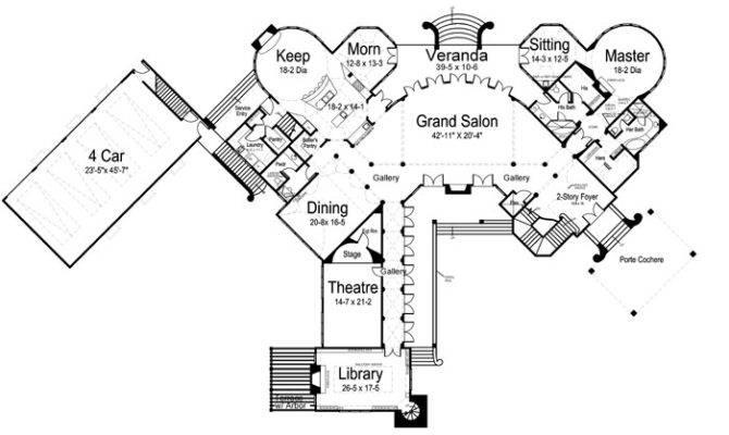Chateau Novella Bedrooms Baths House