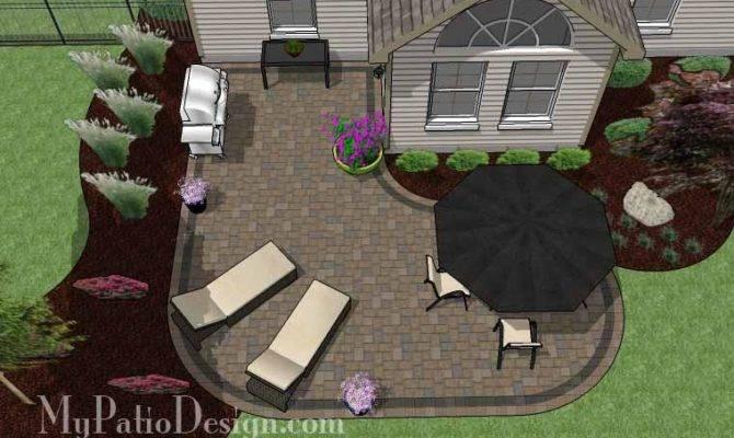 Cheap Backyard Patio Design Grill Station