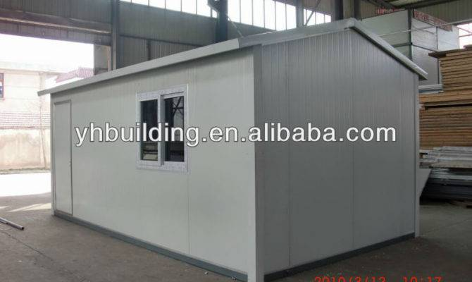 Cheap Bedroom Mobile Home Prefabricated Modular Homes Tires Sale