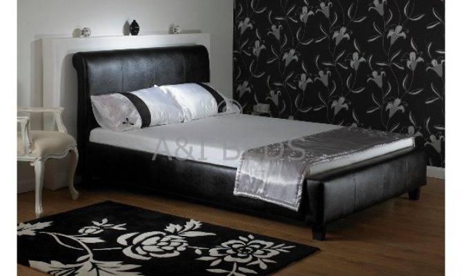 Cheap Boswell Single Handmade Leather Bed Mattress