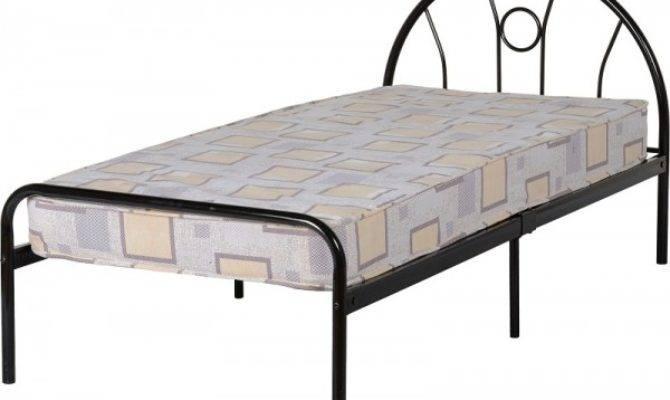Cheap Seconique Nova Black Metal Bed Frame Sale
