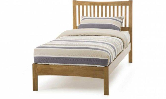Cheap Single Beds Mattress Wooden Frame