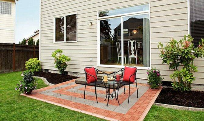 Cheapest Patio Inexpensive Outdoor Flooring Options Cheap