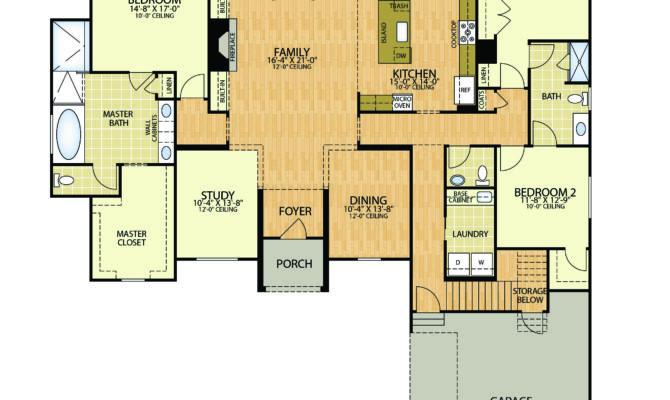 Cherokee Nation Housing Floor Plans Bedroom