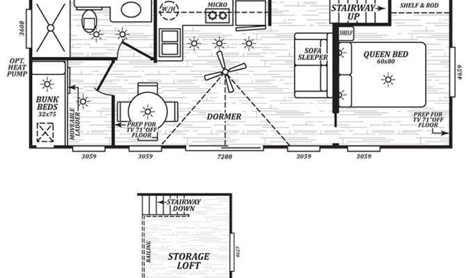 Cherry Creek Floor Plan Park Model Homes Washington Oregon