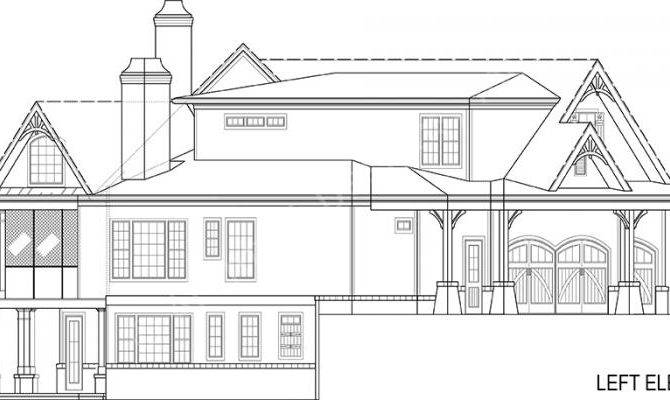 Chestatee River House Plans Home Archival Designs