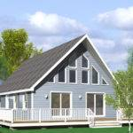 Chester Chalet Modular Home Floor Plan