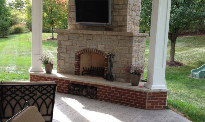 Chesterfield Covered Patio Makeover Poynter Landscape