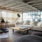 Chic Loft Design Studio Combined Interior