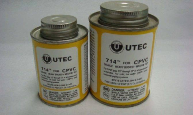 China Cpvc Glue Hot Water Pvc