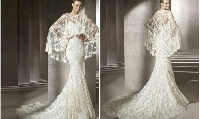 China Fall Elegant Mermaid Style Lace Wedding Dresses