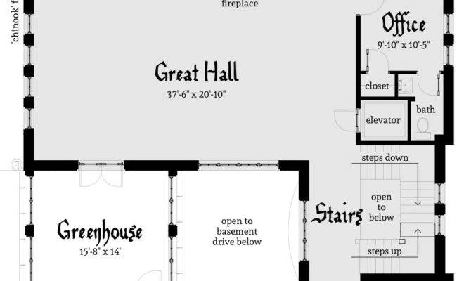 Chinook Castle Plan Tyree House Plans