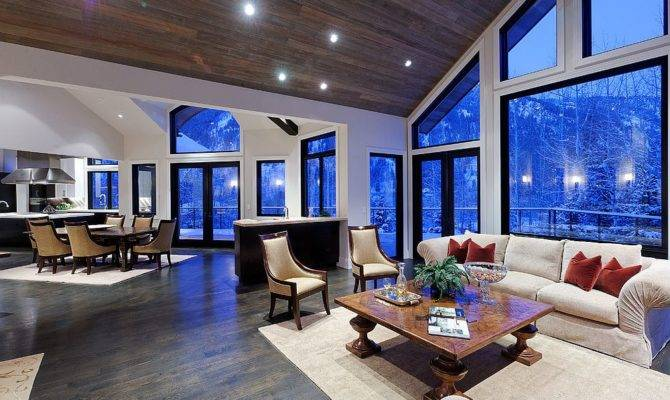 Choose Colors Open Floor Plan