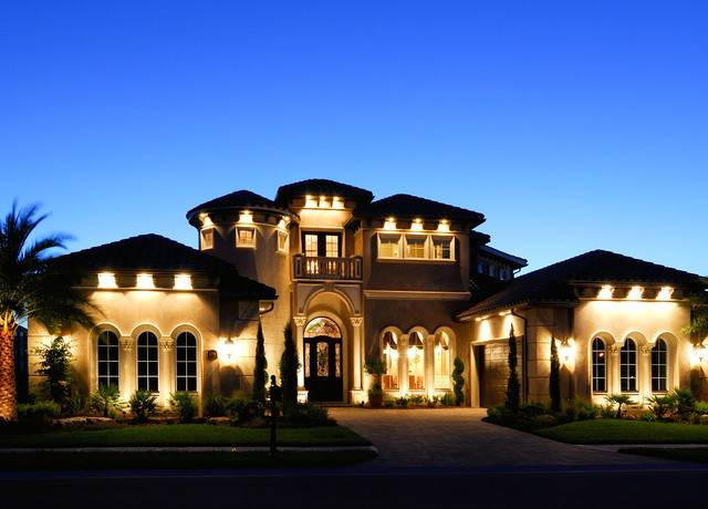 Christopher Burton Luxury Homes Mediterranean Exterior House Plans 143742