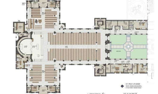 Church Floor Plans Designs Amazing Decors