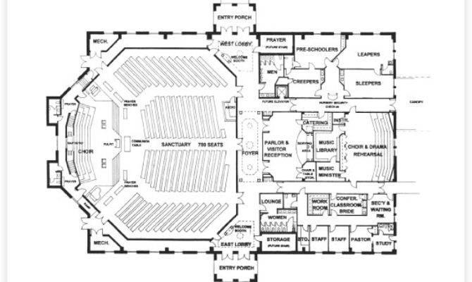 Church Floor Plans