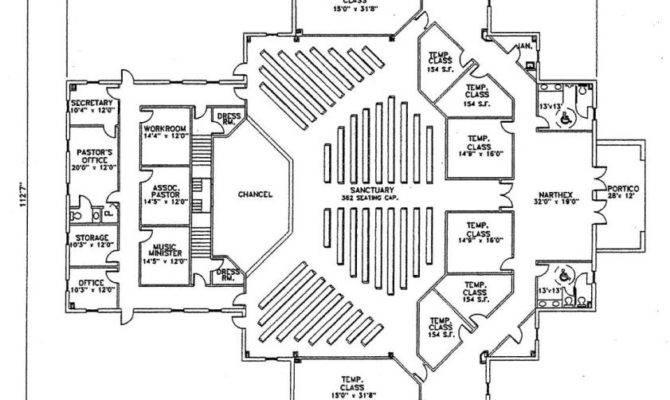 Church Plan Lth Steel Structures