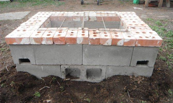 Cinder Block Fire Pit Inexpensive Attractive Ideas House Plans 156833