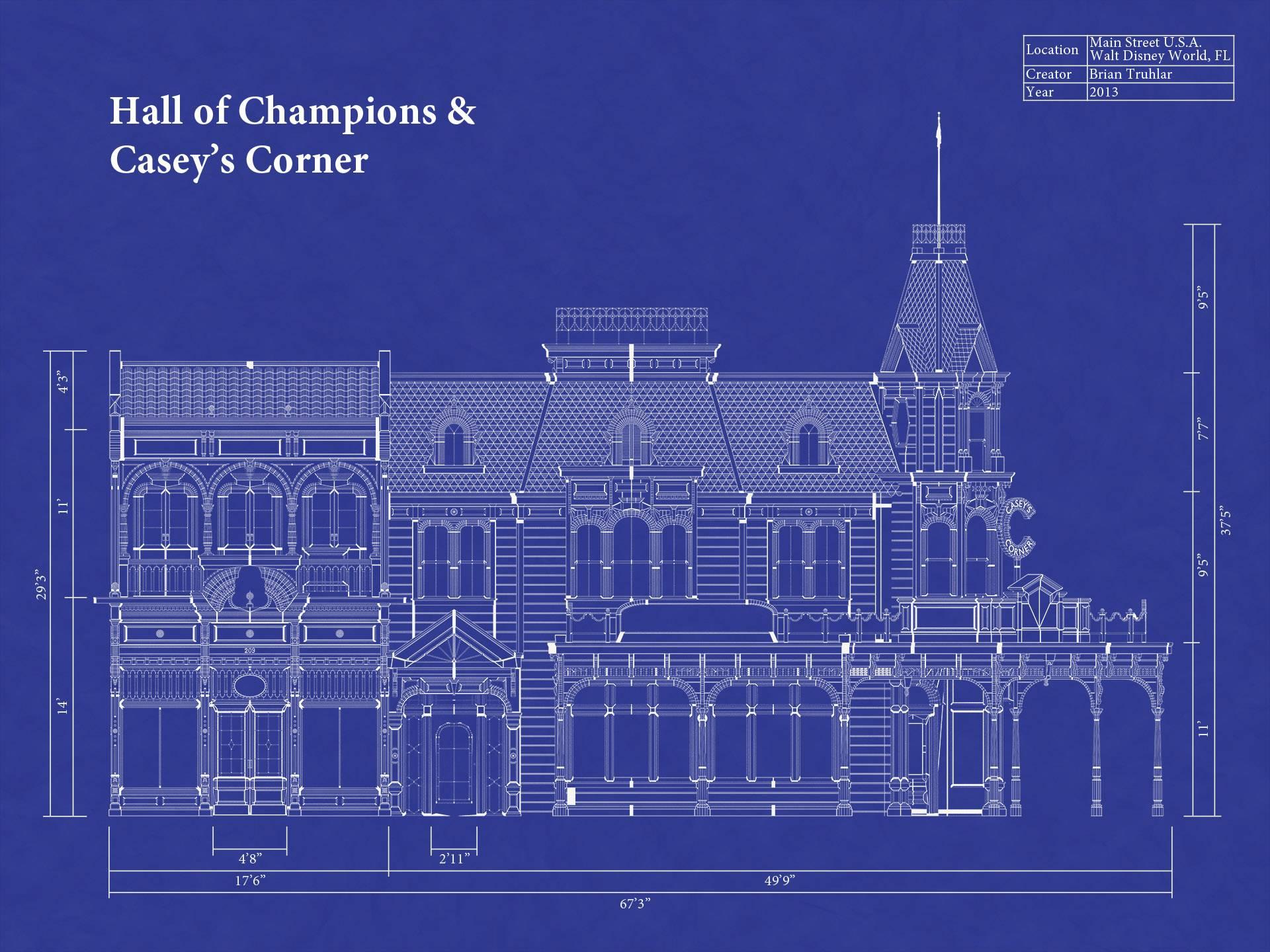 Cinderella Castle Blueprint Galleryhip Hippest Galleries House Plans 11495