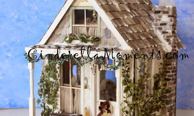 Cinderella Moments Quintessential Cottage Dollhouse