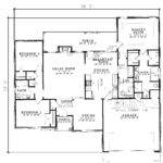 Citadel Traditional Ranch Home Plan House