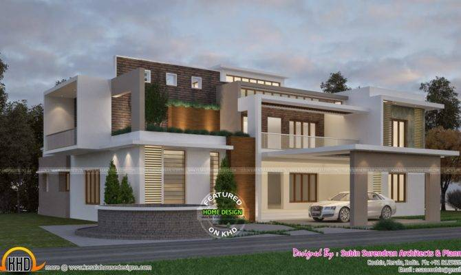 Classic Contemporary House Kerala Home Design Floor