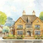Classic English Country Home Plan